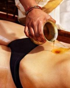 Die hinduistische Ayurveda Abhyanga+Mukabhanga Massage 90 min.