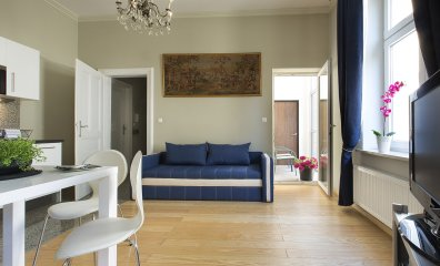 One bedroom (2+2 ppl.), 22 Tomasza Street