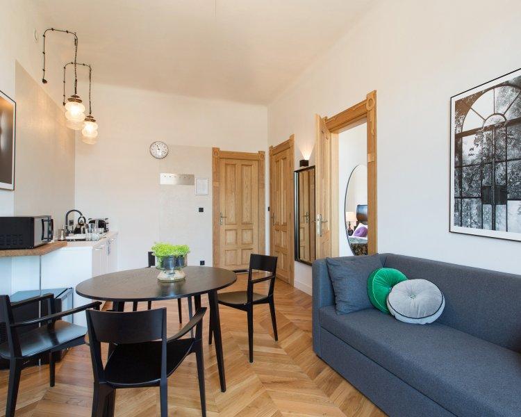 Apartament z 1 sypialnią (2+2 os.) - Plac Szczepański 2