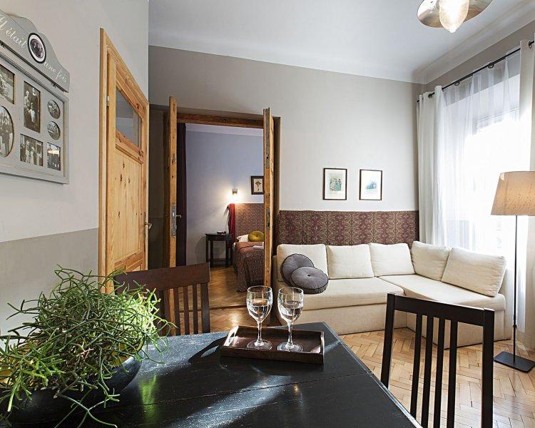 Apartament z jedną sypialnią (2+2 os.) - ul. Asnyka