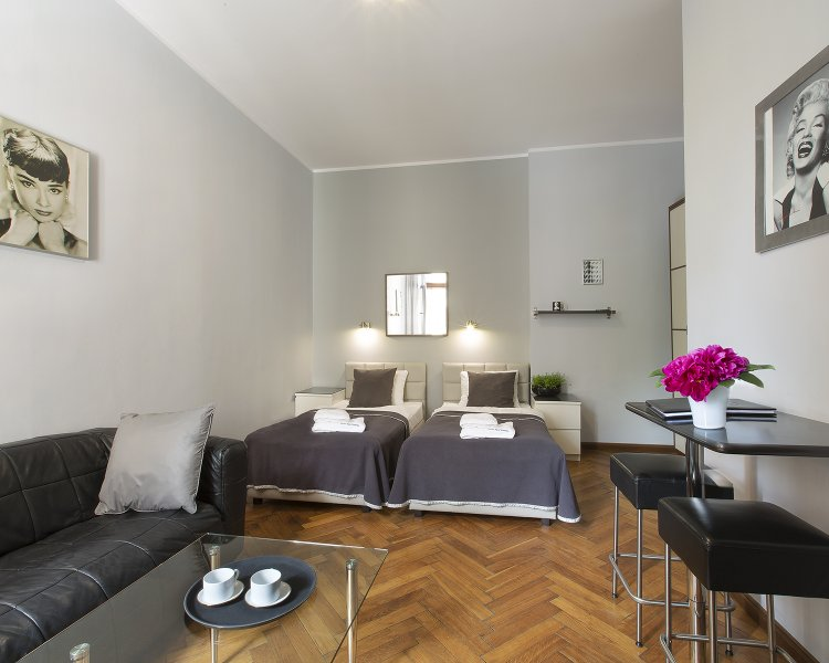 Apartament typu Studio (2 os.) - ul. Sławkowska 23