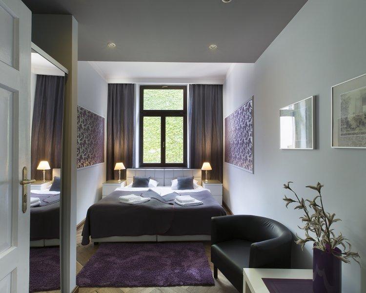 One bedroom (2+2 ppl.), Sławkowska Street