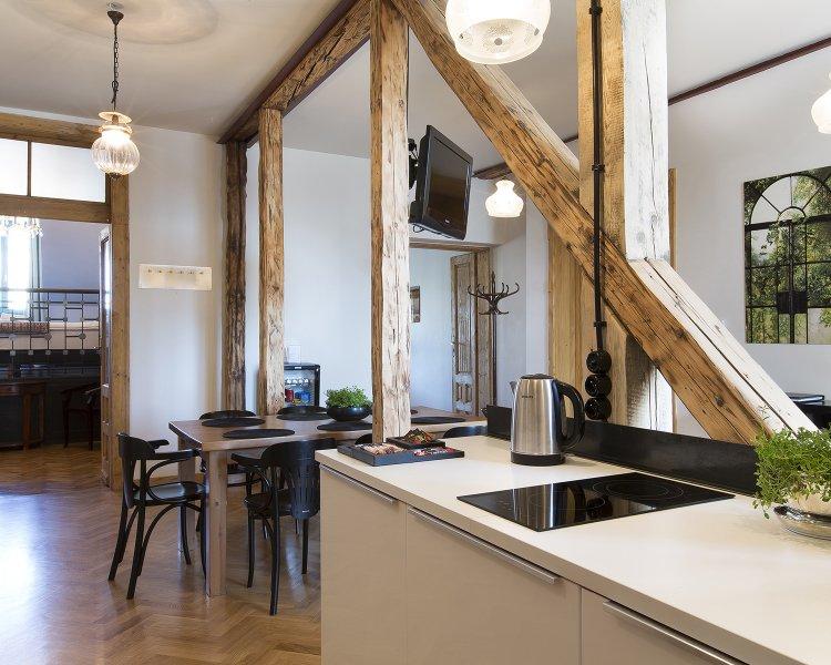 Apartament z 4 sypialniami (8+2 os.) - Plac Szczepański 2