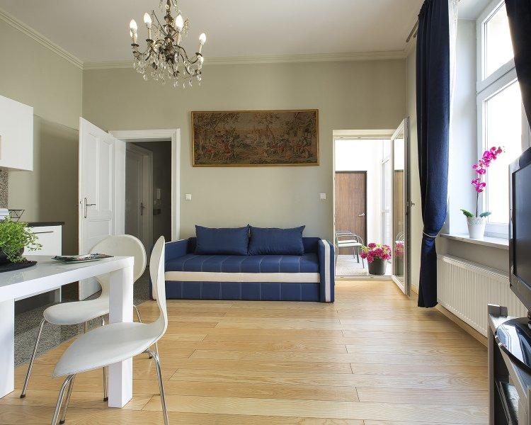 Apartament z jedną sypialnią (2+2 os.) - ul. Tomasza 22