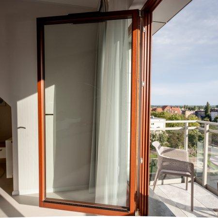 Nowa Motława SPA & Wellness - Apartament E50, 2 Sypialnie,  Widokiem na Motławę, Balkon