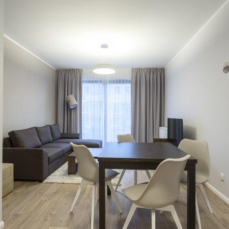 Nowa Motława SPA & Wellness - Apartament E39, 1 Sypialnia, Balkon