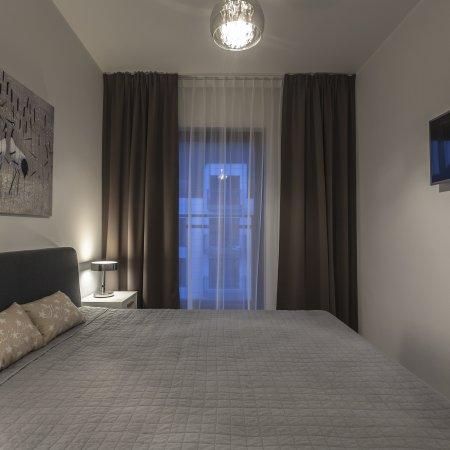 Nowa Motława SPA & Wellness - Apartament E48, 1 Sypialnia, Balkon, Widok na Motławę