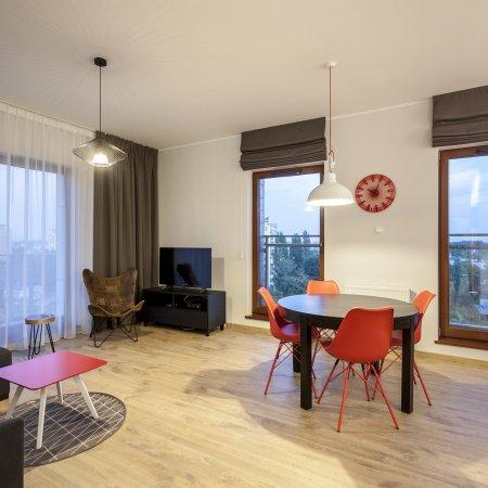 Nowa Motława SPA & Wellness - Apartament D26, 2 Sypialnie,  Widokiem na Motławę, Balkon