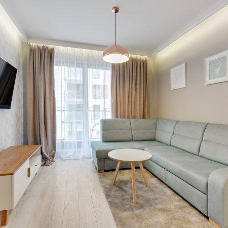 Apartament ul. Chmielna 73B/66,  1 Sypialnia, Balkon