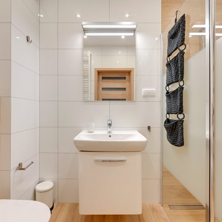 Apartament ul. Jelitkowska 73/10, Sypialnia, Balkon