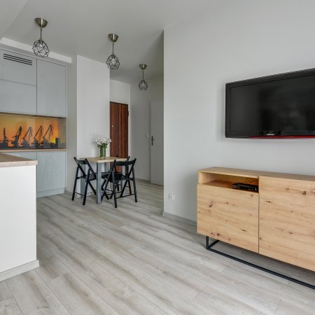 Apartament ul. Toruńska 11/17, 1 Sypialnia + Balkon