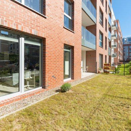 Apartament ul. Św. Barbary 11/116A, Kawalerka, Ogródek