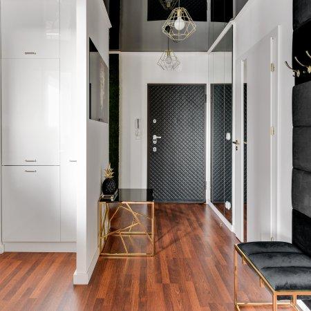 Apartament ul. Długie Ogrody 18g/233, Sypialnia + Balkon