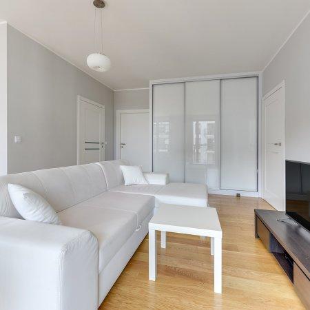 Apartament, ul. Szafarnia 6/24.1, 1 Sypialnia, Balkon
