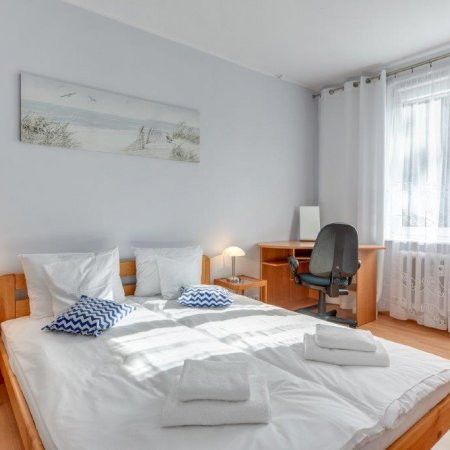 Apartament ul. Mniszki 9A/8, 1 Sypialnia, Balkon