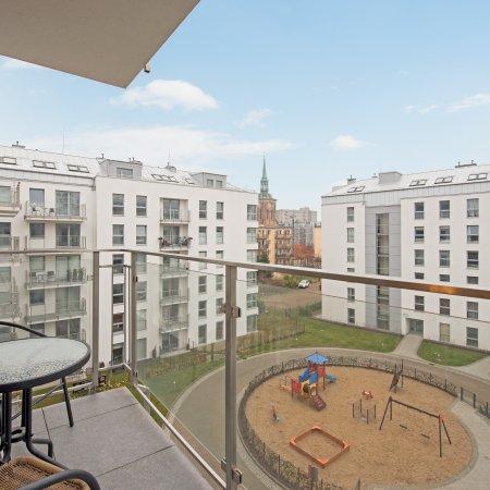 Apartament ul. Świętej Barbary 12/106, 1 Sypialnia, Balkon