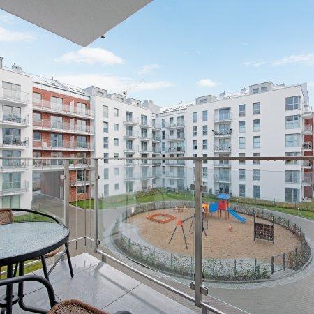 Apartament ul. Świętej Barbary 12/147, 1 Sypialnia, Balkon