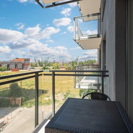 Apartament ul. Wałowa 25C/28 , 1 Sypialnia, Balkon