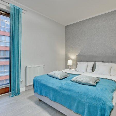 Apartament ul. Chmielna 73A/35, 1 Sypialnia, Balkon