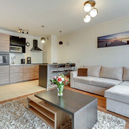 Apartament ul. Chmielna 70B/37, 1 Sypialnia, Balkon