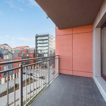 Apartament ul. Chmielna 63/51, 1 Sypialnia, Balkon