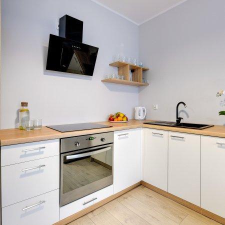 Nowa Motława SPA & Wellness - Apartament - B44, 1 Sypialnia+ Salon, Widok na Stare Miasto