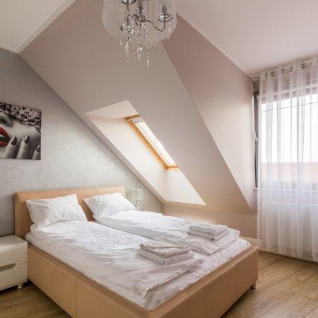Apartament ul. Tartaczna 2/36, Sypialnia + Salon