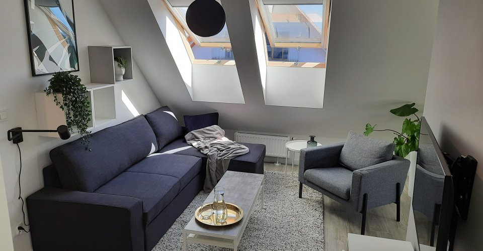 Apartament ul. Toruńska 11/50, Balkon