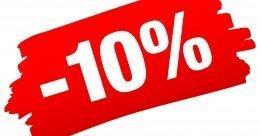 Oferta bezzwrotna -10%