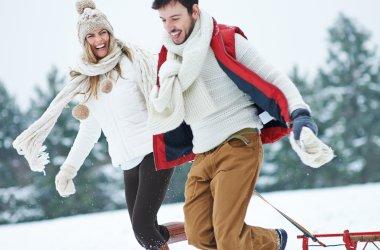 Familien Winterferien an der Ostsee