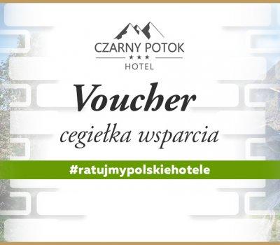 Voucher kwotowy/CEGIEŁKA na usługi hotelu