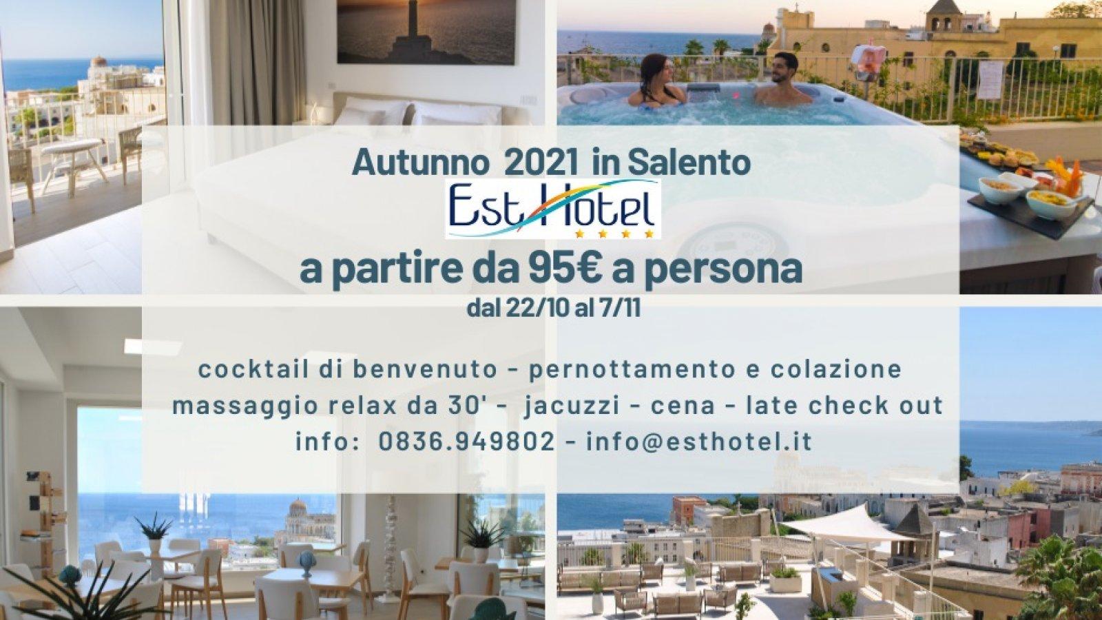 Autunno 2021 in Salento 2 notti