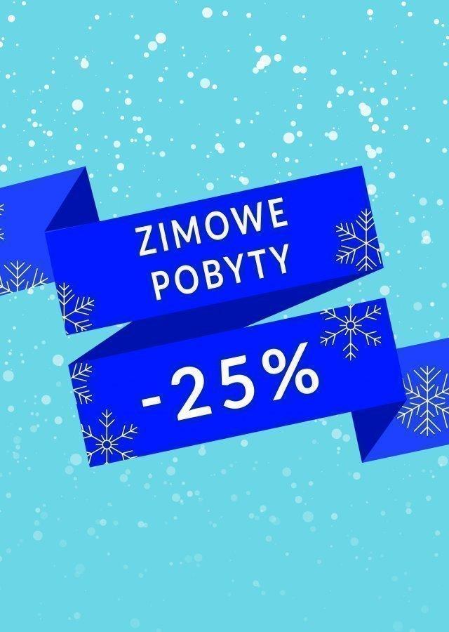 ZIMOWE POBYTY -25%
