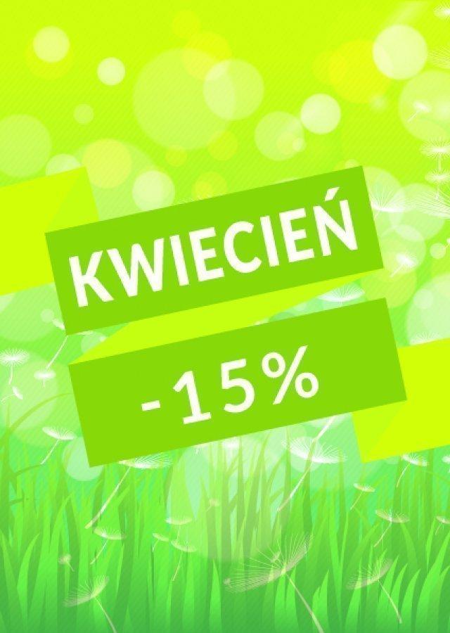 KWIETNIOWE POBYTY -15%