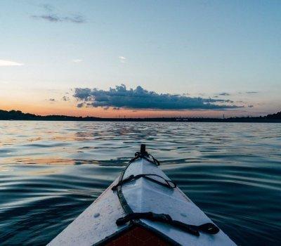 Gdańsk from canoe