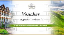 Gift voucher on the amount of 500,00 zł