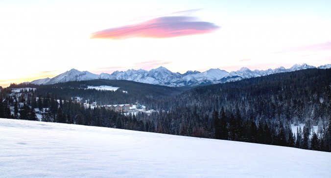 Christmas and New Year's Eve in the scenery of the Tatra Mountains