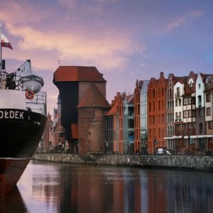 Sunny moments at Hotel Hanza | by famous Gdansk Crane