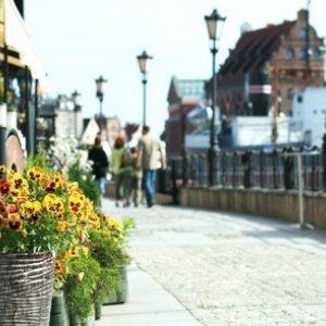 Easter in Gdansk on the Motlawa river