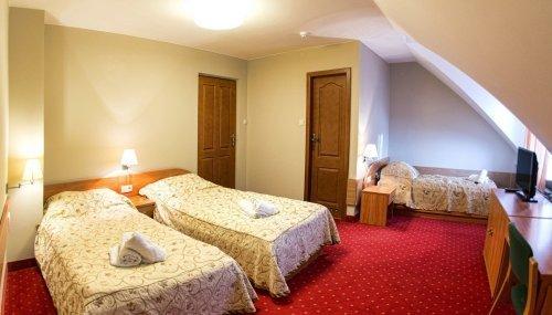 Pokój 3-osobowy Standard z osobnymi łóżkami