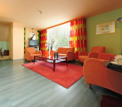 Apartament 3-osobowy z tarasem