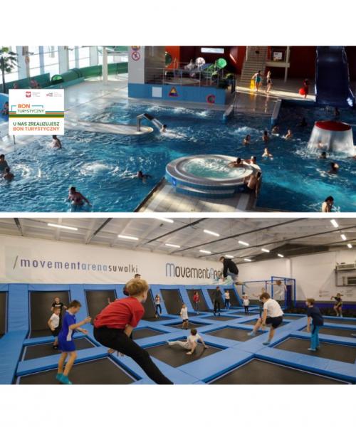 Aktywnie z Movement Arena i Aquapark Suwałki