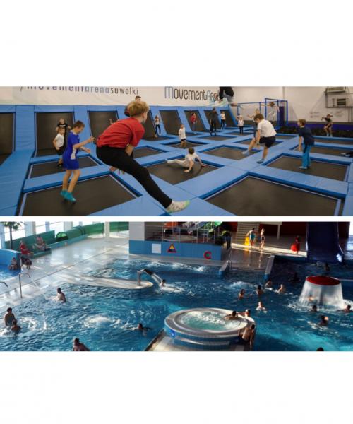 Rodzinny weekend z Movement Arena i Aquapark Suwałki