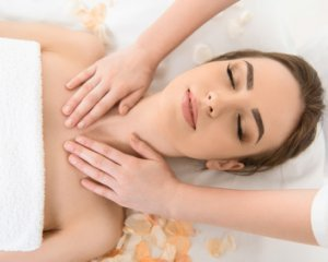 FACE, NECK AND UPPER CHEST MASSAGE
