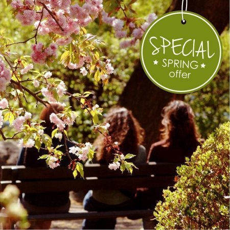 SPECIAL SPRING OFFER -13% discount on accomodation