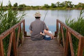 Weekend z Synem! Pobyt + kurs wędkowania
