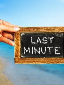 Last Minute - Ostatnie turnusy wakacyjne