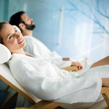 Relaks w zaciszu sauny