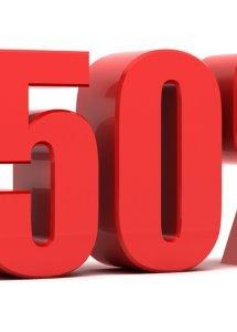 Weekend - 50%
