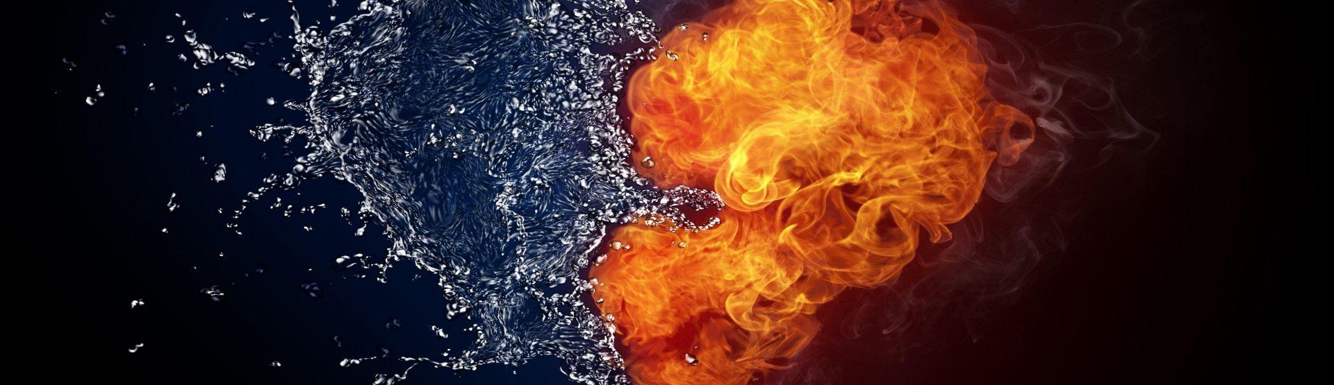 Walentynki 2019 - Ogień i woda
